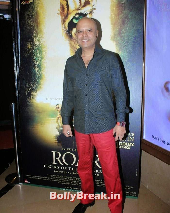 Naved Jafri, Celebs at 'Roar' Movie First Look Launch