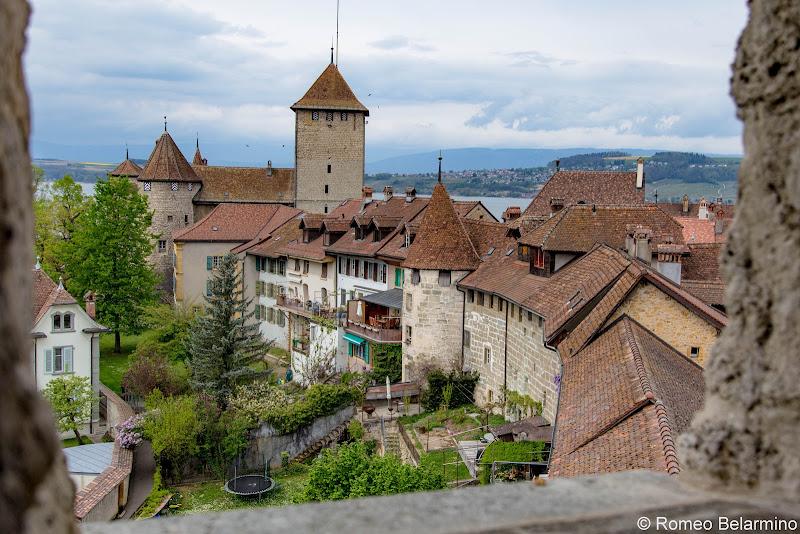 Ramparts Murten Switzerland