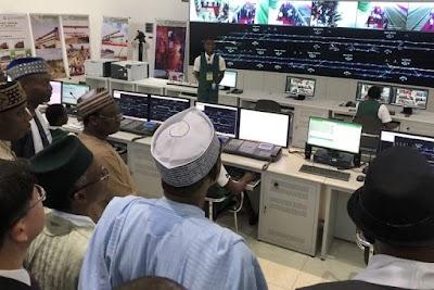 PHOTOS: Buhari Commissions Abuja light rail