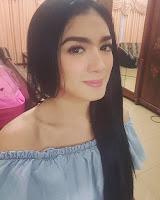 Angel Karamoy pemeran Siti di sinetron Kiamat Hari Jumat SCTV