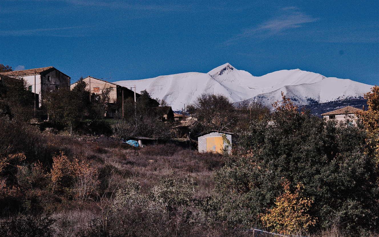 Priumeras nieves en el Cotiella