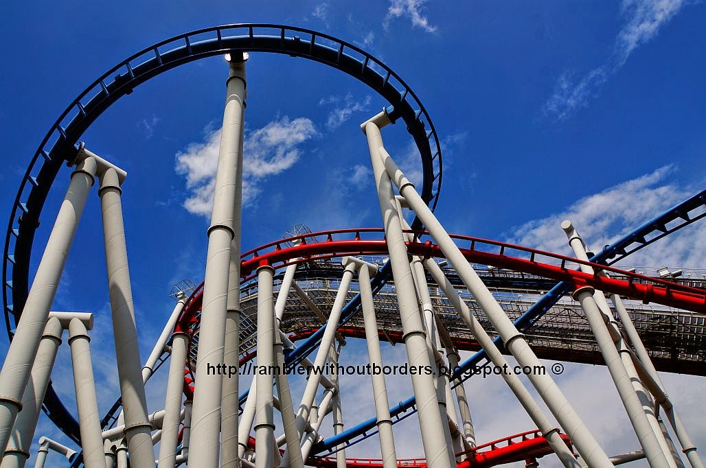 Battlestar Galactica ride in Universal Studios Singapore