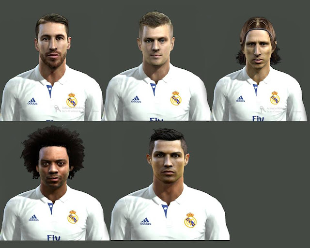 Facepack Real Madrid C.F.