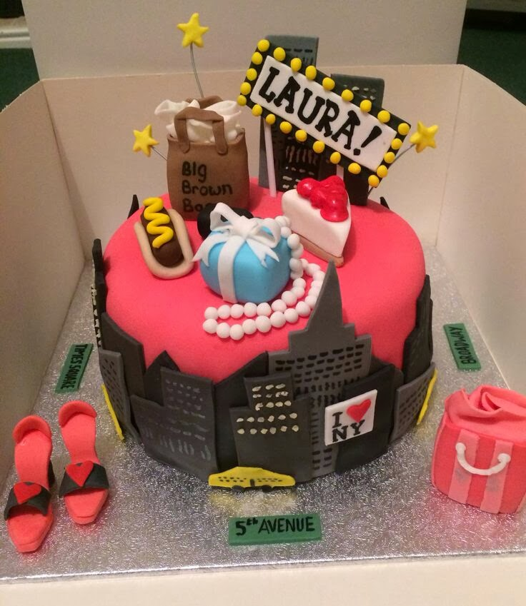 I Think It Is Nice To Use What The Person Likes About City Or Their Favorite Spots Showcase On A Cake Fun Girly Theme Here For Sure