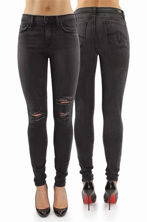 Tanya High Rise Skinny in Crawford
