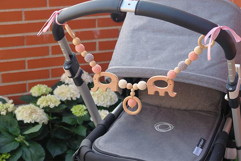 diy adorno movil natural carrito bebe
