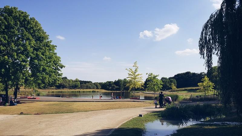 Parc Georges Valbon - Lacs supérieurs