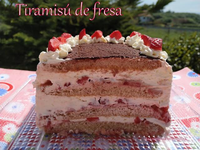Tiramisu De Fresas