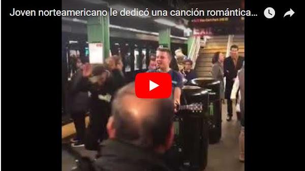 Joven norteamericano le dedicó una canción romántica a Nicolás Maduro