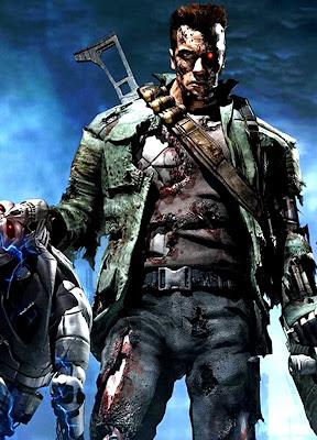 Poster Terminator Game