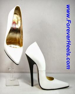 a0c3fed3082 Peter Chu High Heels  V16SA Iconic V-shape Sharp Pointed Toe High ...