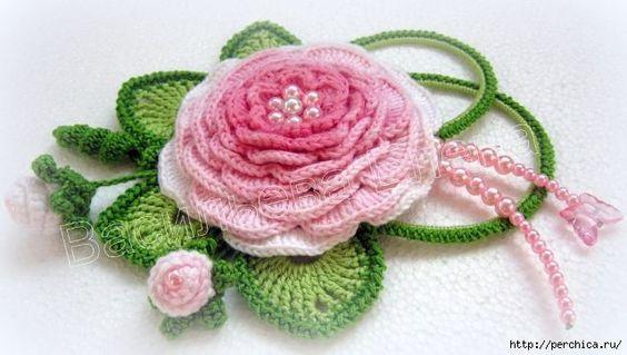 Ergahandmade Crochet Flower Diagram Videos