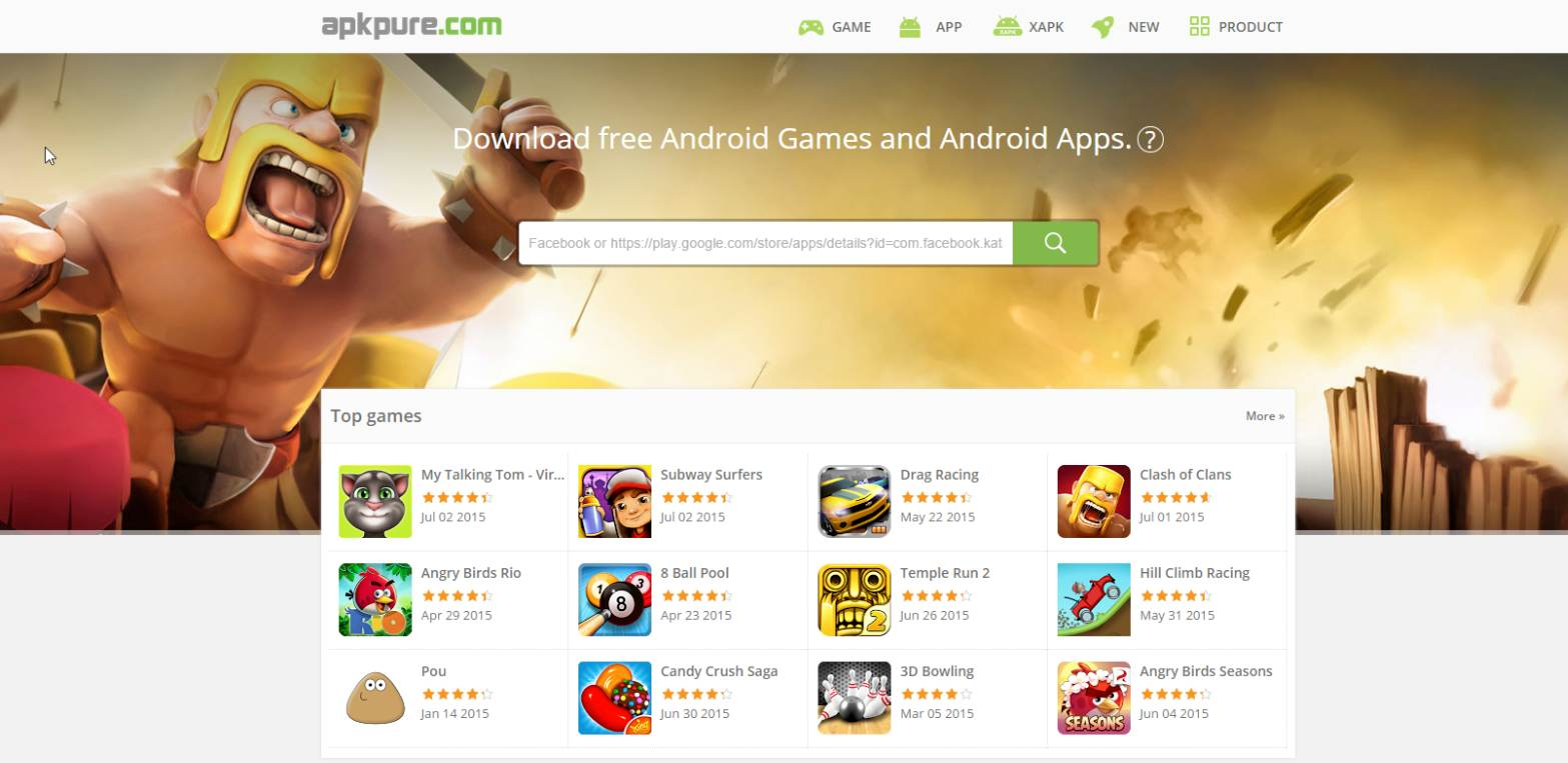متجر مجاني لتحميل جميع تطبيقات وألعاب جوجل بلاي محدثة وبصيغة APK