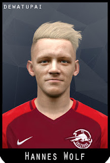 PES 2017 Faces Hannes Wolf by Dewatupai