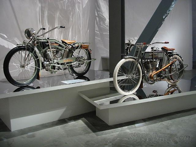 Xe cổ Harley Davidson 1911 Model 7D - Chiếc V-twin đầu tiên