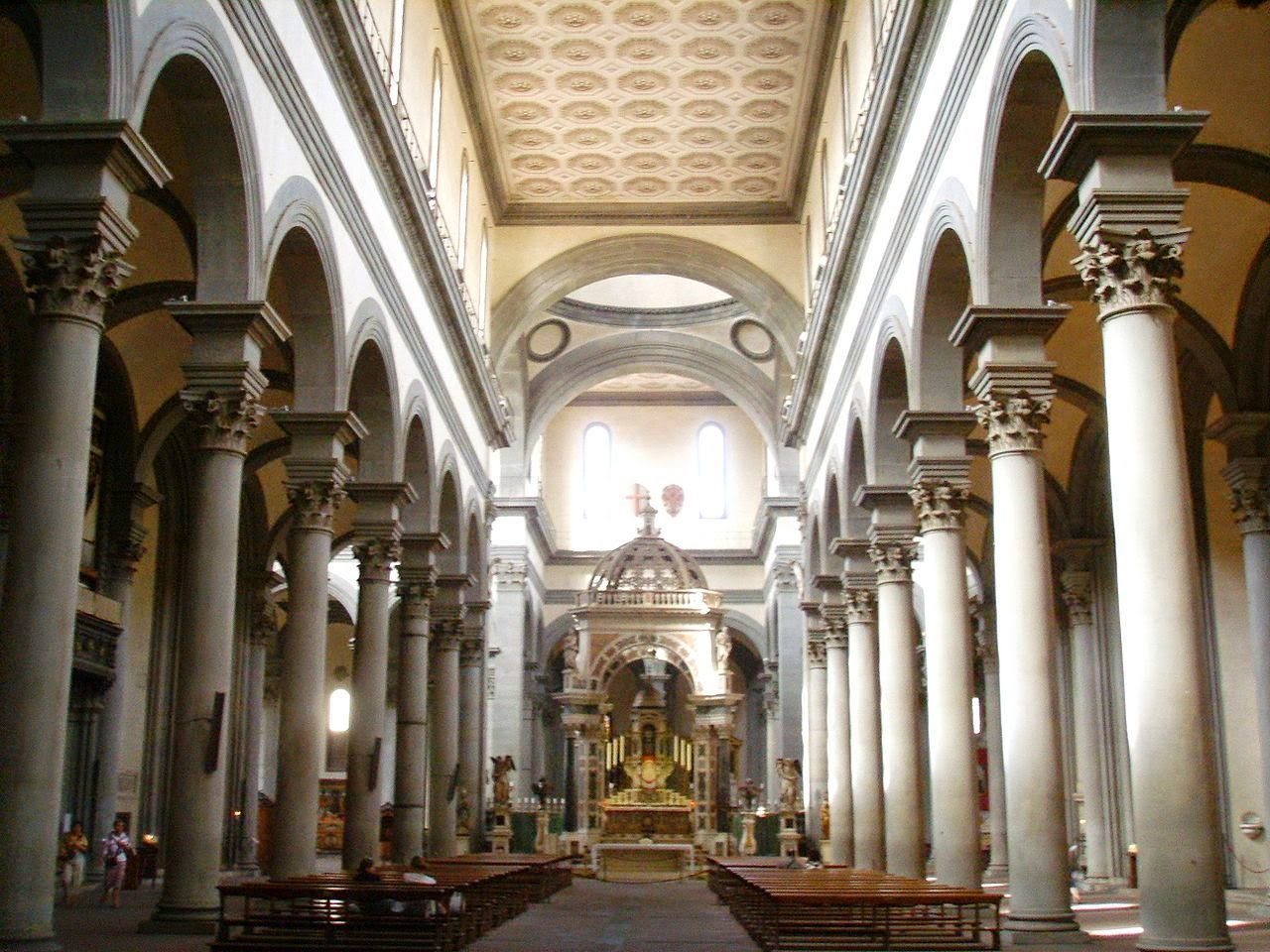 Nave of the Santo Spirito