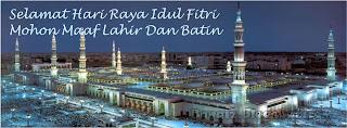 Foto Sampul Selamat Idul Fitri