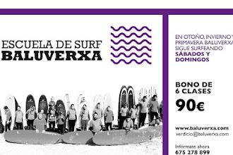 SURFEA TODO EL AÑO CON BALUVERXA , LA ESCUELA DEL CABO PEÑAS