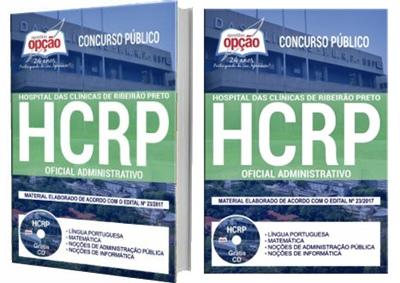 Apostila Concurso HCRP 2018 Oficial Administrativo
