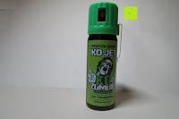 Erfahrungsbericht: KO Zombie Columbia Verteidigungssprays Pfeffer KO Jet 50 ml mit Gürtelclip