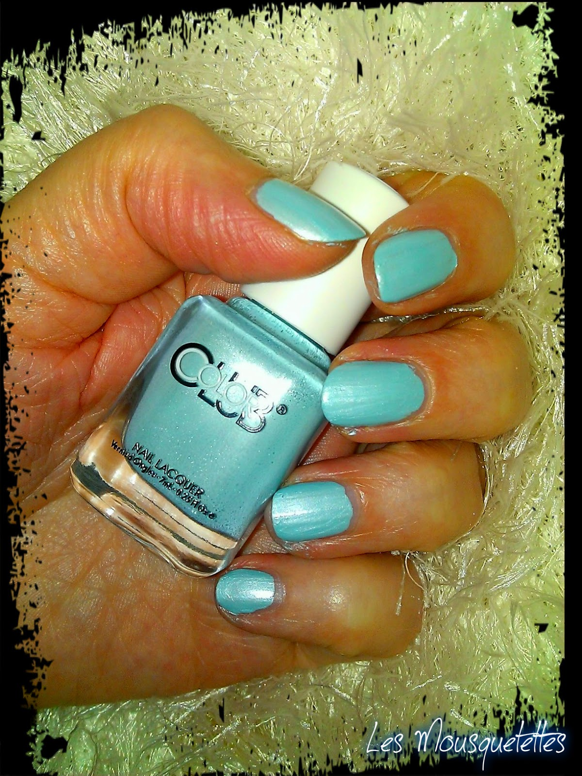 Vernis Bluish Aquamarine Gala's Gems Color Club - Les Mousquetettes©