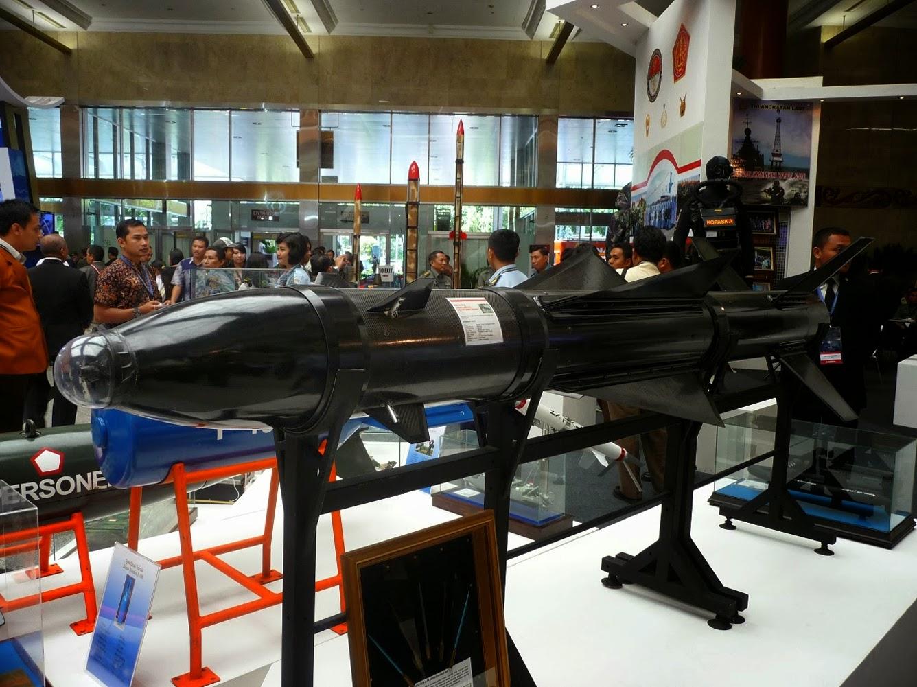 RX-320 – sejenis Exocet dengan jarak 180 km