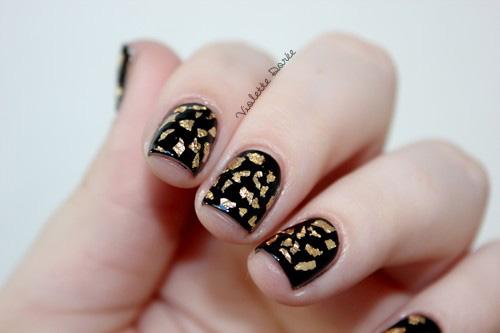 violette dor u00e9e  blog nail art beaut u00e9  diy   manucure fa u00e7on
