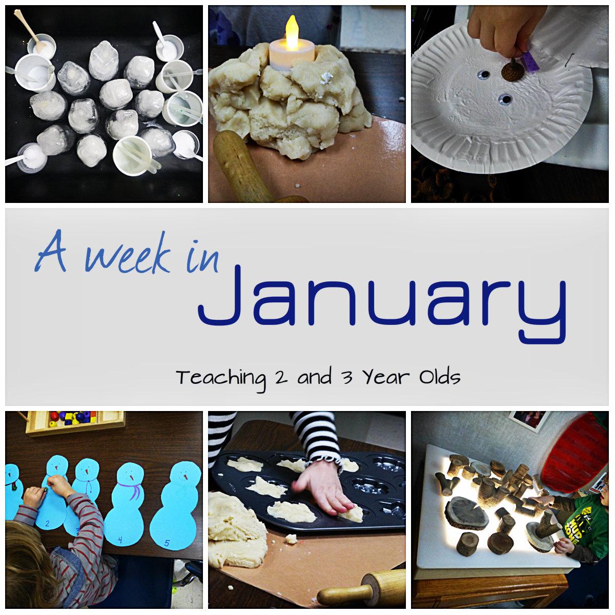 Teaching 2 And 3 Year Olds Preschool Winter Activities