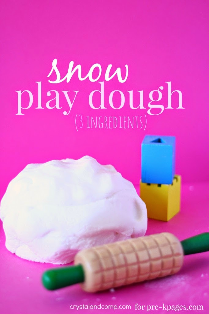 Play Dough Ideas from Mom's Library