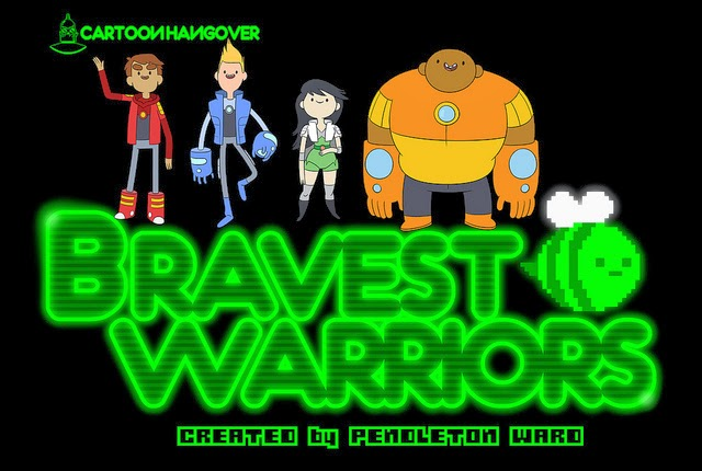 Cartoon Hangover's Bravest Warriors photo