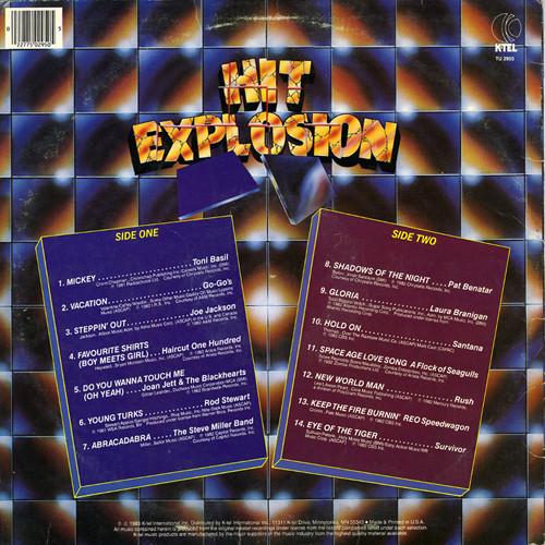 K Tel Kollection 1973 1983 Hit Explosion 1983