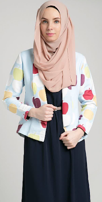 Model Baju Muslim Wanita untuk Kerja