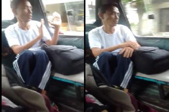 Video: Wanita Ini Rekam Orang Joget Aneh di Angkot, Saat Turun Dompetnya Raib