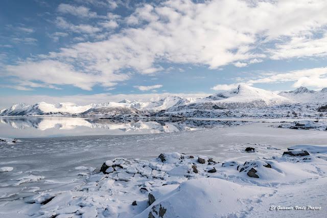 Lofoten paisaje congelado, por El Guisante Verde Project