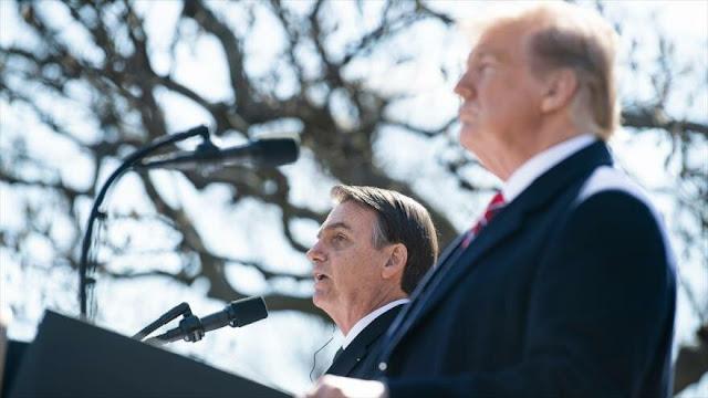Trump declarará a Brasil aliado estratégico de EEUU fuera de OTAN