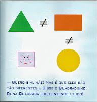 livro a historia do quadradinho