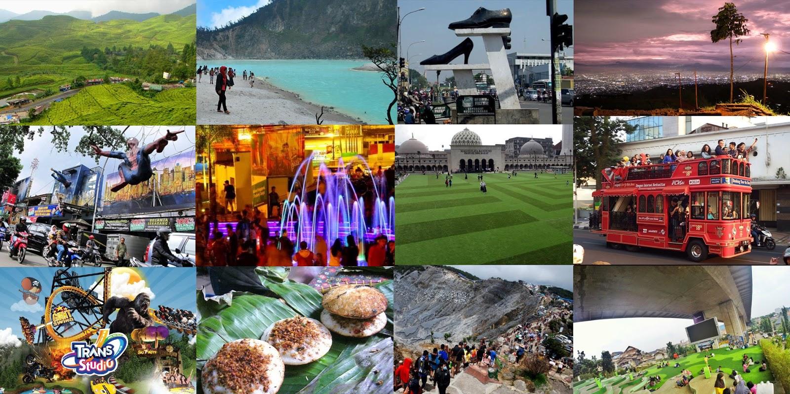 Inilah Daftar Tempat Wisata Favorit Di Bandung Saat Musim Liburan