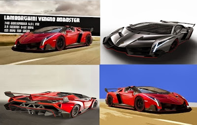 Veneno Roadster adalah Lamborghini Termahal di Dunia