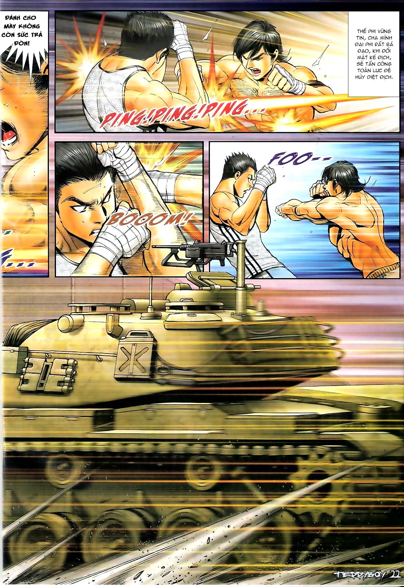 Người Trong Giang Hồ - Chapter 1306: Vinh Nhục Nhất Chiến 1 - Pic 17