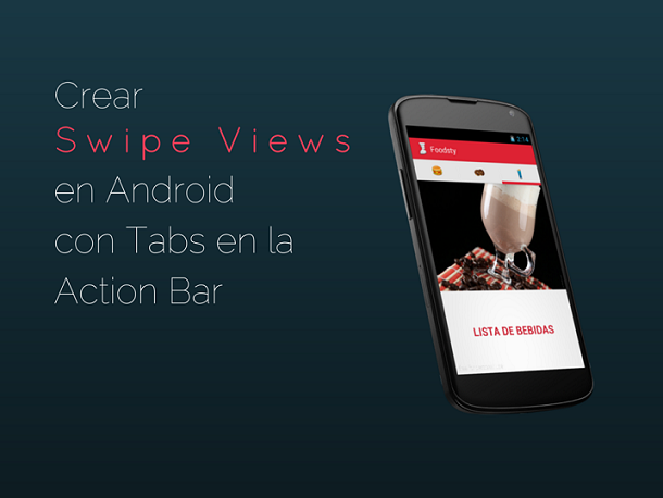 Añadir Tabs a la Action Bar para usar Swipe Views