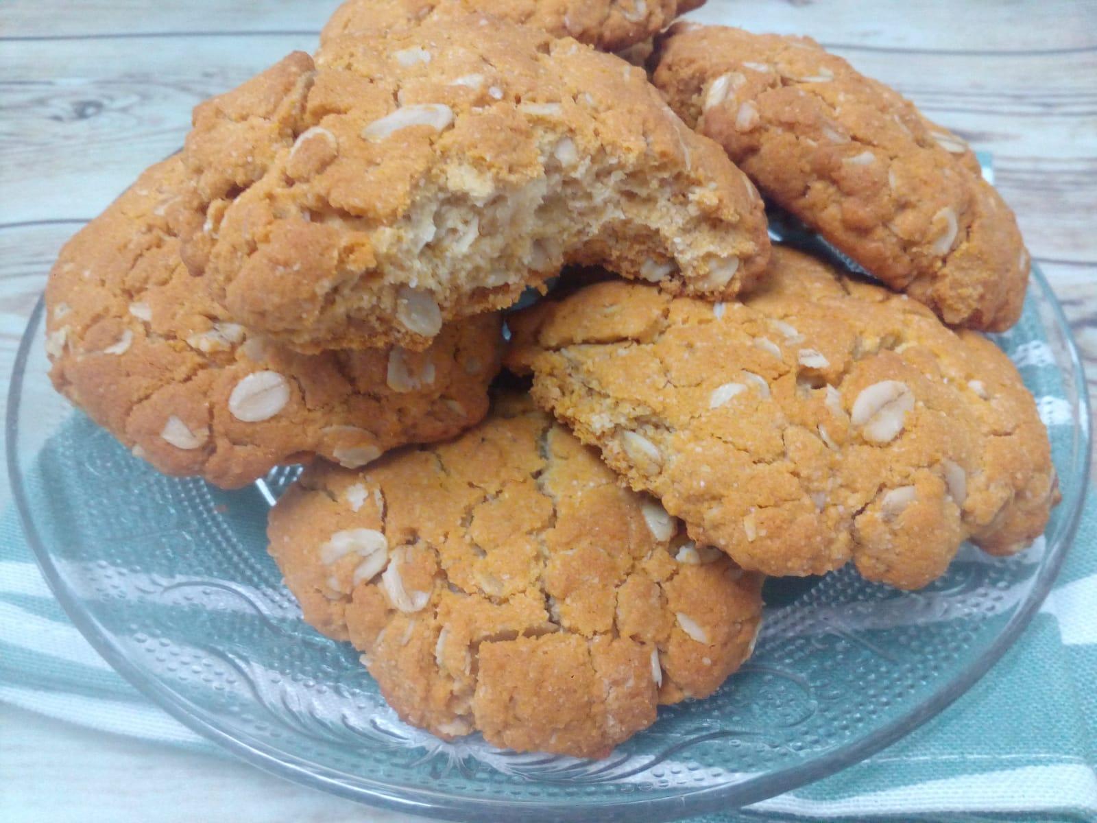Receta de galletas sin levadura y sin azucar