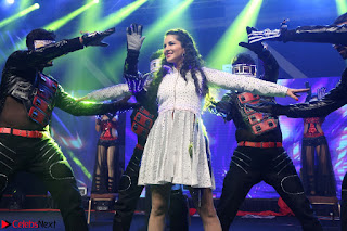 Sunny Leone Dancing on stage At Rogue Movie Audio Music Launch ~  187.JPG