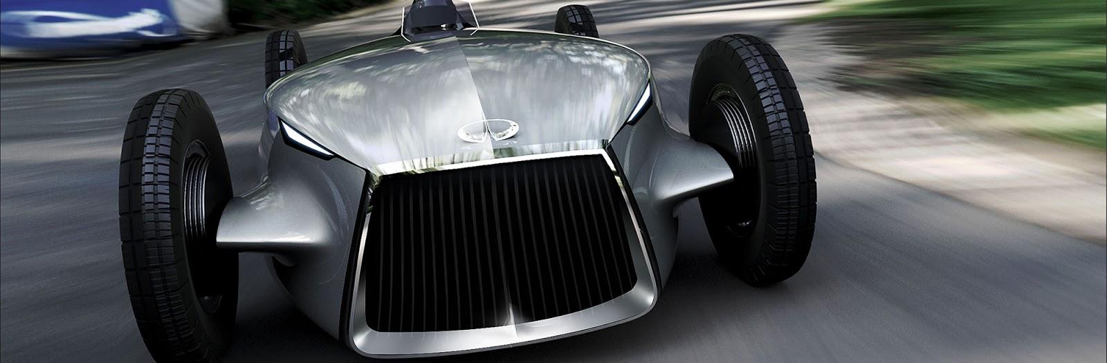 Infiniti Prototype 9 rendering, front view