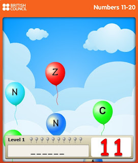 http://learnenglishkids.britishcouncil.org/es/word-games/balloon-burst/numbers-11-20