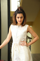 Taapsee Pannu in cream Sleeveless Kurti and Leggings at interview about Anando hma ~  Exclusive Celebrities Galleries 017.JPG