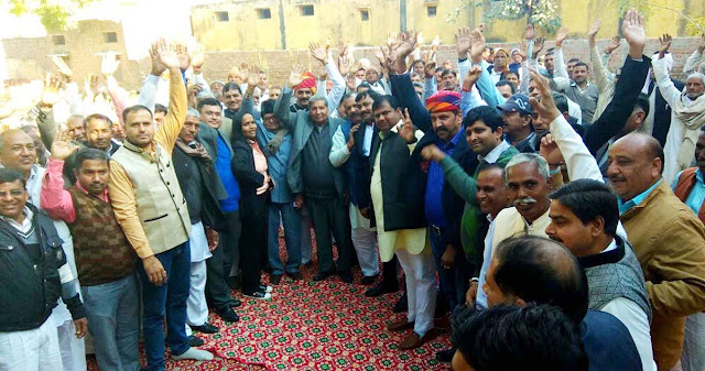 Rajput coordination committee organized in village Chanayasa Mahapanchayat