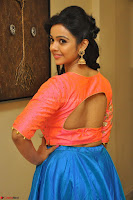 Nithya Shetty in Orange Choli at Kalamandir Foundation 7th anniversary Celebrations ~  Actress Galleries 059.JPG