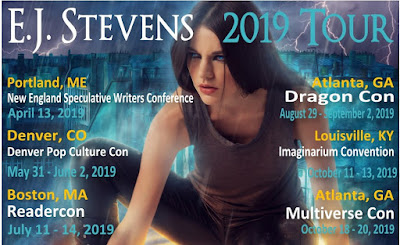 E.J. Stevens 2019 world tour