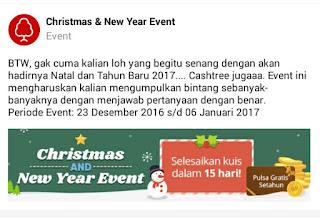 IMG 20161229 001341 Cara mendapatkan Pulsa gratis setahun dari event Cashtree