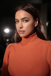 Irina Shayk At Bottega Veneta Show At New York Fashion Week
